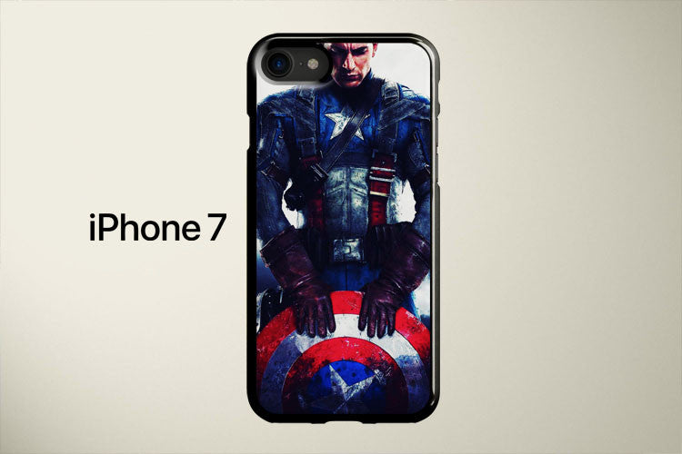 The Evolution of Captain America s Uniform Apple iPhone 7 Cover Case