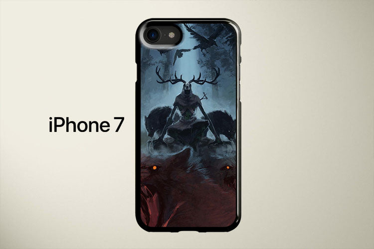 The Witcher Frightening Leshen Apple iPhone 7 Cover Case