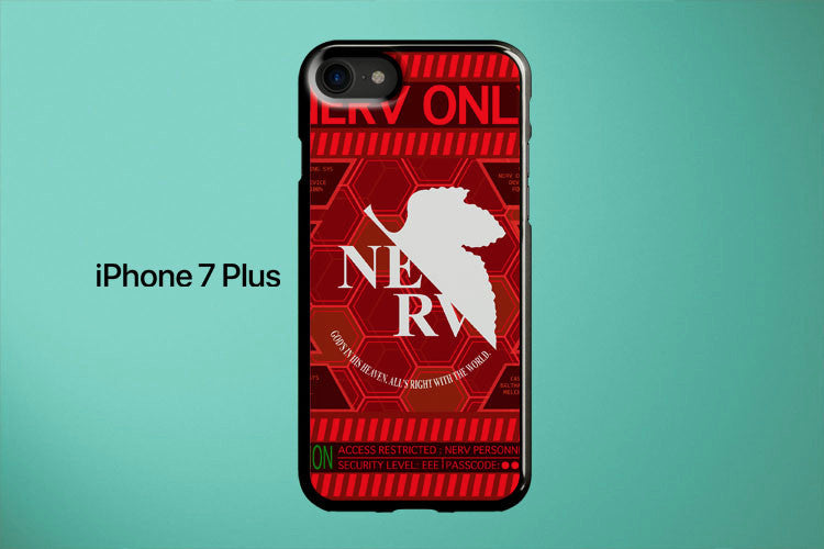 Neon Genesis Evangelion Nerv Only Apple iPhone 7 Plus Cover Case