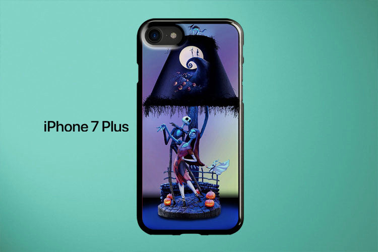 Nightmare Before Christmas Lamp Apple iPhone 7 Plus Cover Case