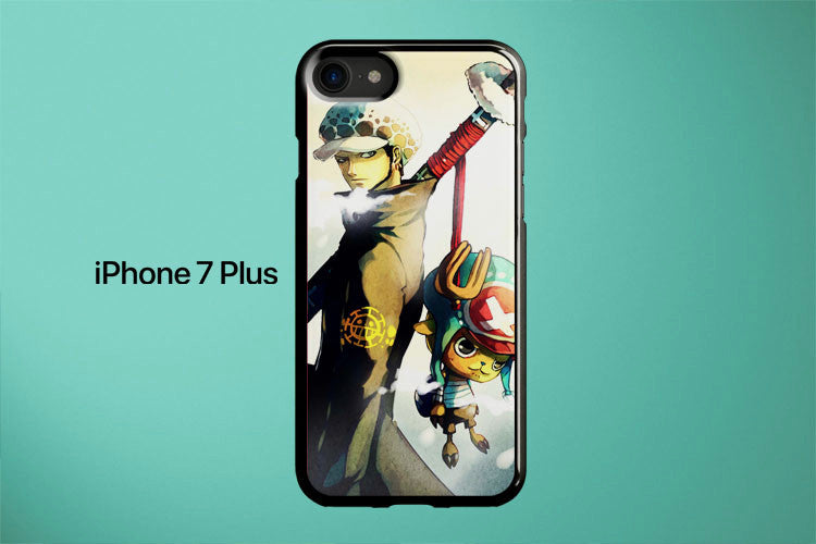 One Piece Trafalgar Law With Chopper Apple iPhone 7 Plus Cover Case