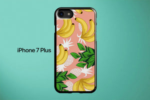 Pattern Banana Fruit Apple iPhone 7 Plus Cover Case