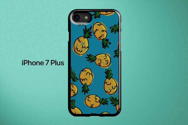 Pineapple Pattern Apple iPhone 7 Plus Cover Case