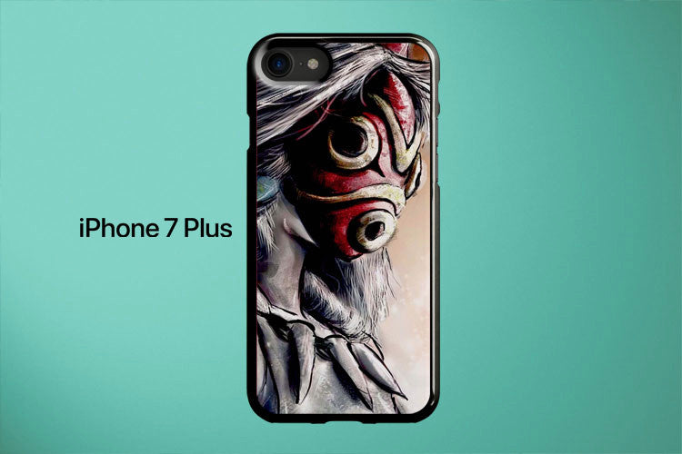 Princess Mononoke Forest Spirit Mask Apple iPhone 7 Plus Cover Case