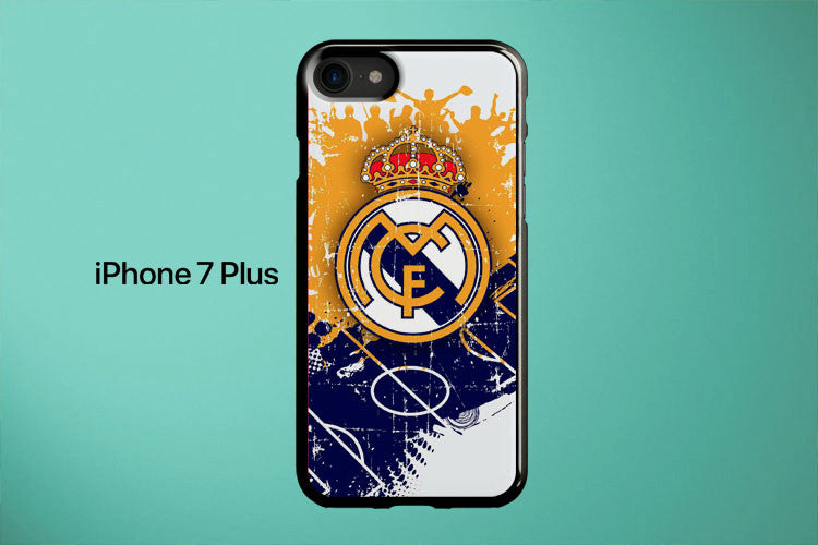 Real Madrid Logo Sport Apple iPhone 7 Plus Cover Case