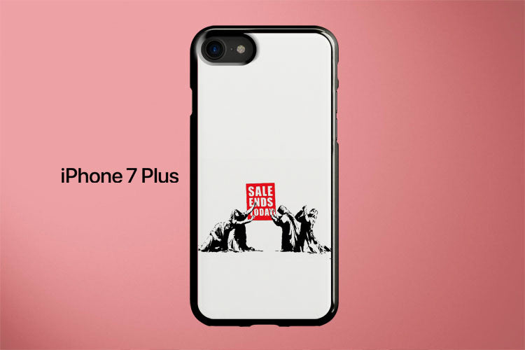 Sale Ends Banksy Apple iPhone 7 Plus Cover Case