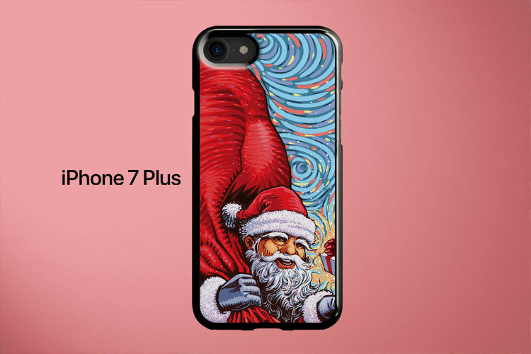 Santa s With Gift Packs Christmas Apple iPhone 7 Plus Cover Case