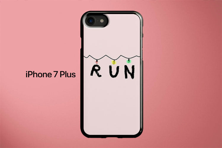 Stranger Things Run Apple iPhone 7 Plus Cover Case