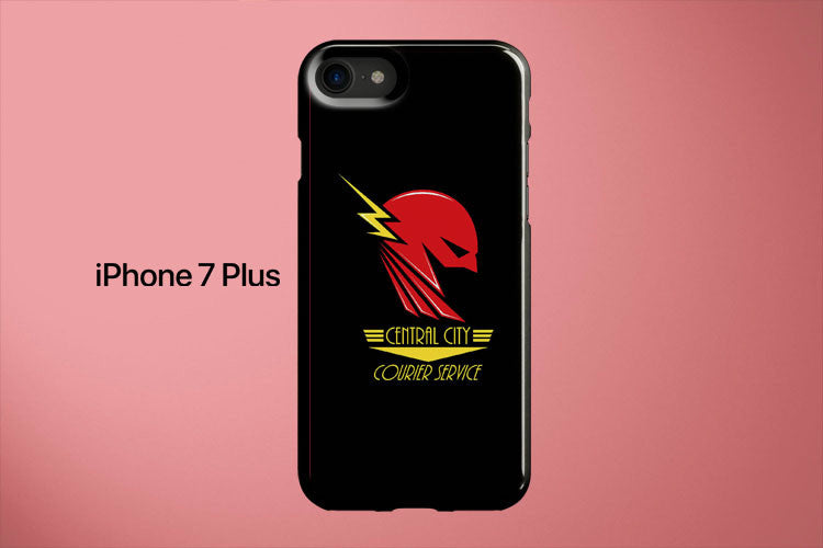The Flash Cross Country Central City Apple iPhone 7 Plus Cover Case