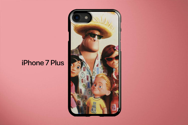 The Incredibles Vacation Apple iPhone 7 Plus Cover Case