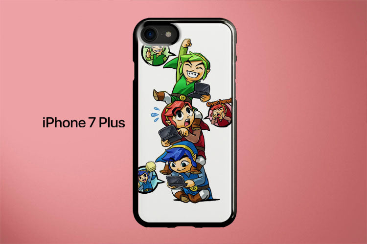 The Legend of Zelda Tri Force Heroes Apple iPhone 7 Plus Cover Case