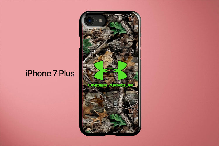 Under Armor Green Camo Apple iPhone 7 Plus Cover Case