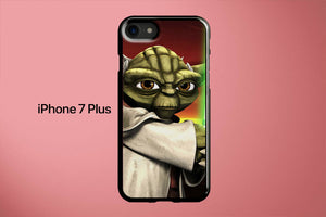 Yoda The Clone Wars Apple iPhone 7 Plus Cover Case