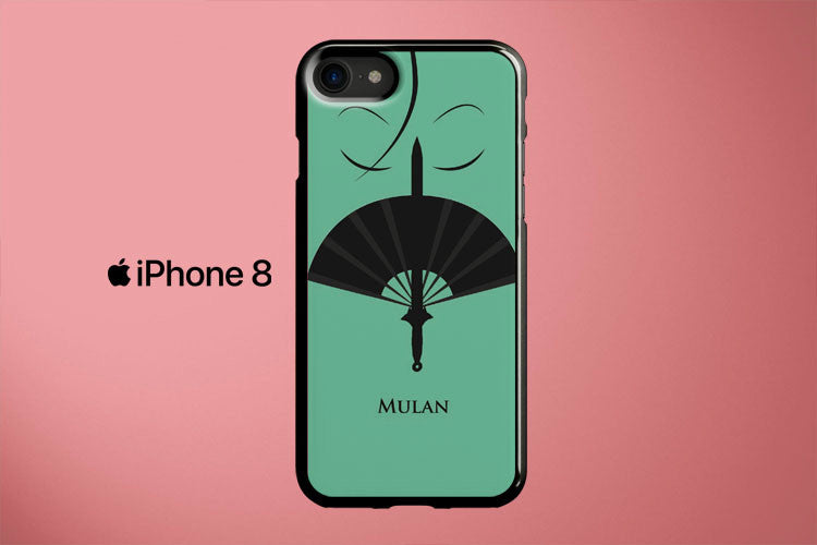 Mulan Minimalist Poster Apple iPhone 8 Cover Case