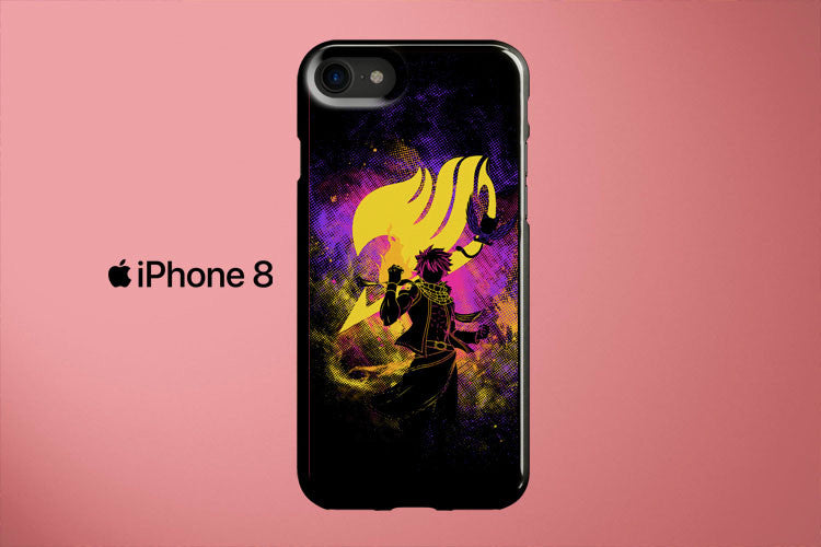 Natsu Fairy Tail Apple iPhone 8 Cover Case