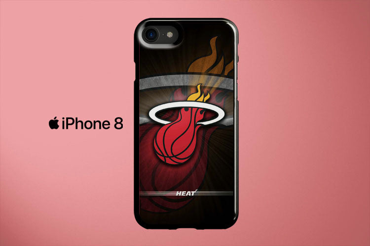 NBA Miami Heat Apple iPhone 8 Cover Case