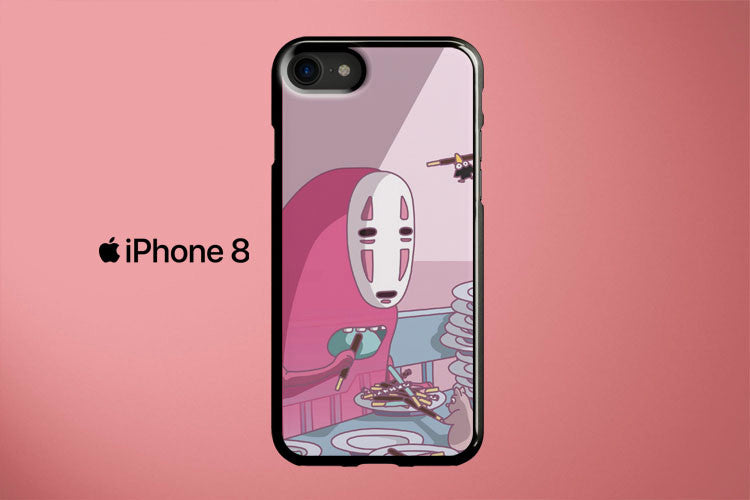 No Face Eat Pocky Apple iPhone 8 Cover Case