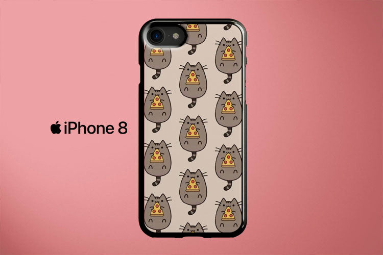 Pusheen Pizza Apple iPhone 8 Cover Case