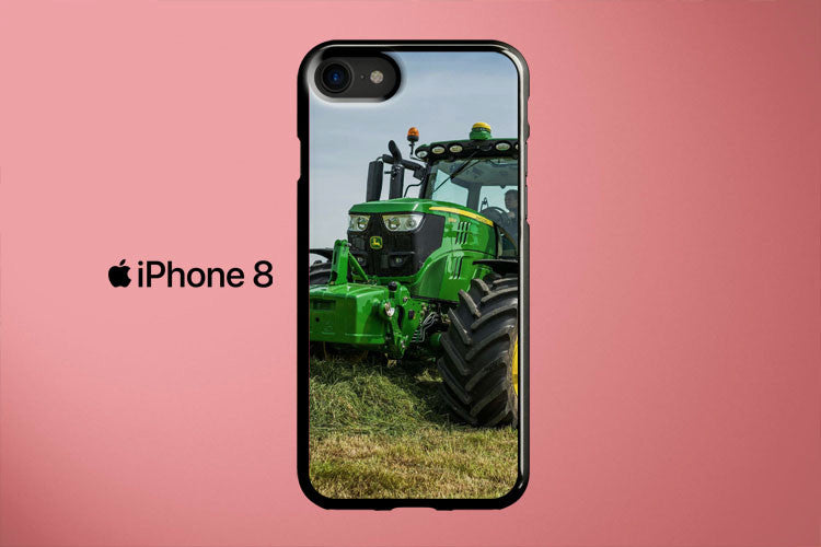 Row Crop Tractors 6195R John Deere Apple iPhone 8 Cover Case
