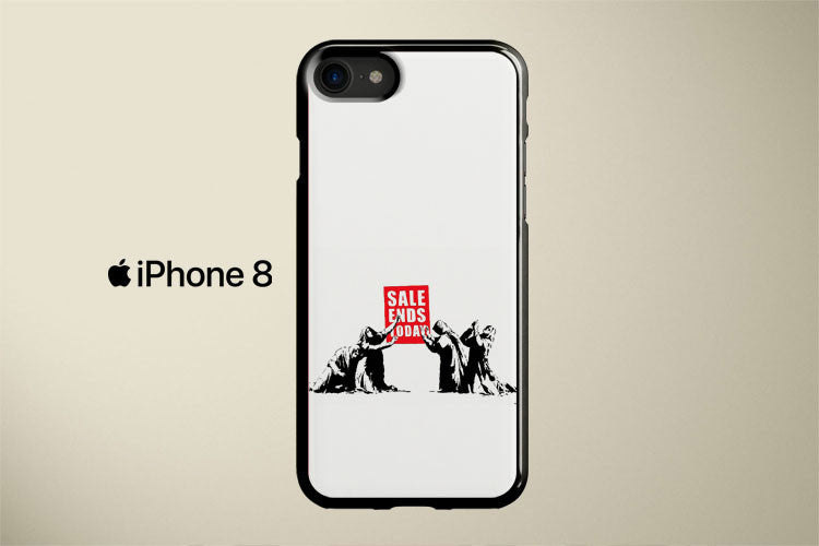 Sale Ends Banksy Apple iPhone 8 Cover Case