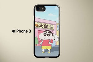 Shinchan And Shiro Apple iPhone 8 Cover Case