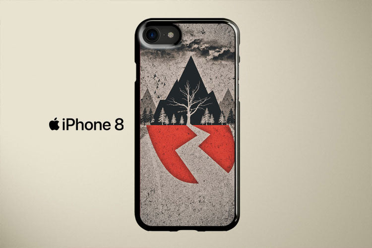 Sleeping With Sirens Grunge Apple iPhone 8 Cover Case