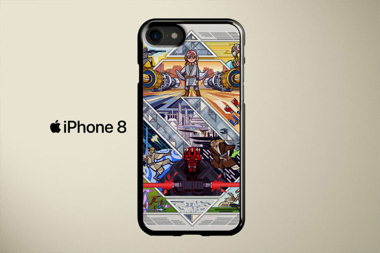 Star Wars Episode III Apple iPhone 8 Cover Case