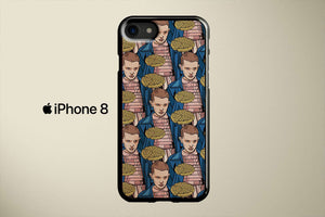 Stranger Things Eleven Pattern Apple iPhone 8 Cover Case