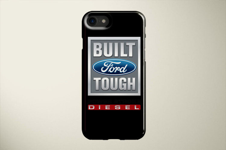 Built Ford Tough PowerStroke Diesel Apple iPhone 8 Plus Cover Case