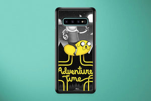 Super Punch Adventure Time Samsung Galaxy S10 Plus Cover Case