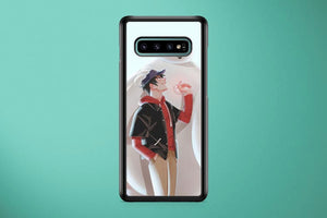 Tadashi And Baymax Samsung Galaxy S10 Plus Cover Case