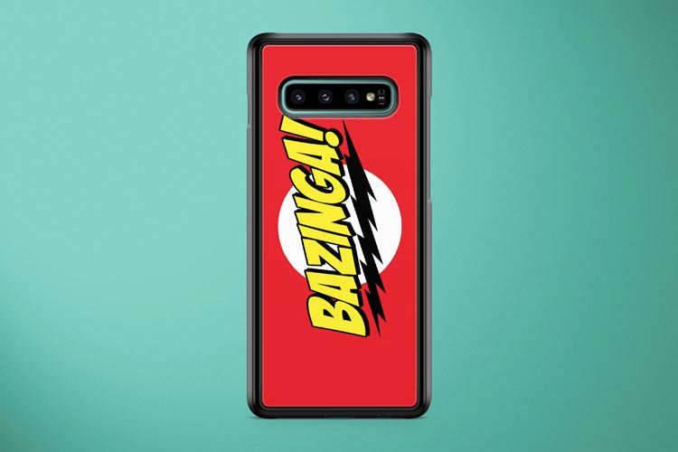 The Big Bang Theory Bazinga  Samsung Galaxy S10 Plus Cover Case