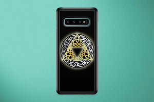 The Legends Of Zelda Celtic Triforce Samsung Galaxy S10 Plus Cover Case