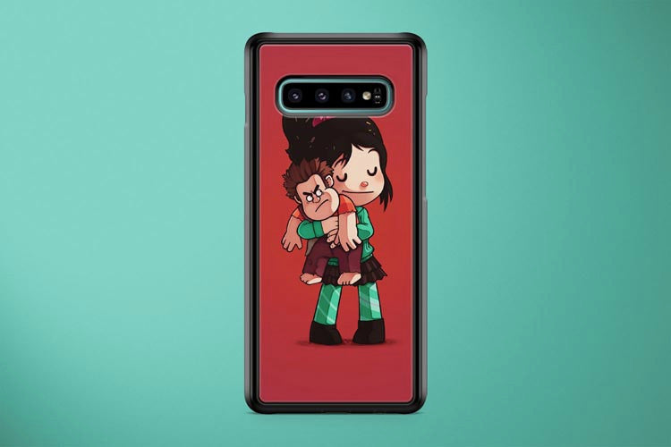 Vanellope Hugs Ralph Samsung Galaxy S10 Plus Cover Case