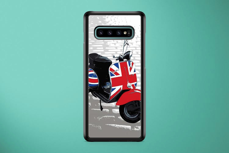 Vespa Scooter Mod Style Samsung Galaxy S10 Plus Cover Case
