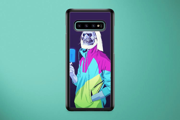 White Walker 90s Style Game of Thrones Samsung Galaxy S10 Plus Cover Case