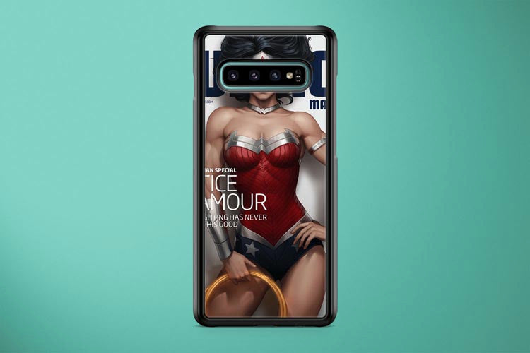 Wonder Woman Magazine Cover Samsung Galaxy S10 Plus Cover Case