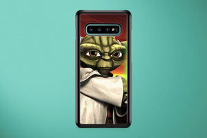 Yoda The Clone Wars Samsung Galaxy S10 Plus Cover Case