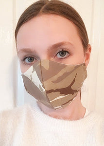 Cotton Face Mask with Nose Wire