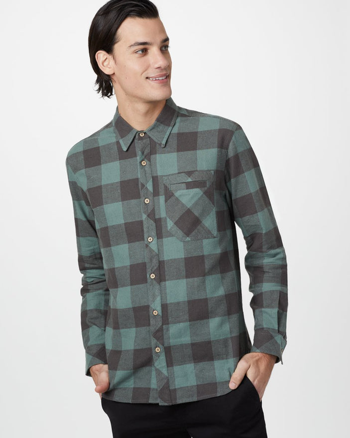Image of product: Benson Longsleeve Button Up Hommes