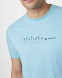 Image of product: Herren Sound Wave Classic T-Shirt