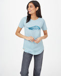 Image of product: Featherwave Raglan-T-Shirt für Damen