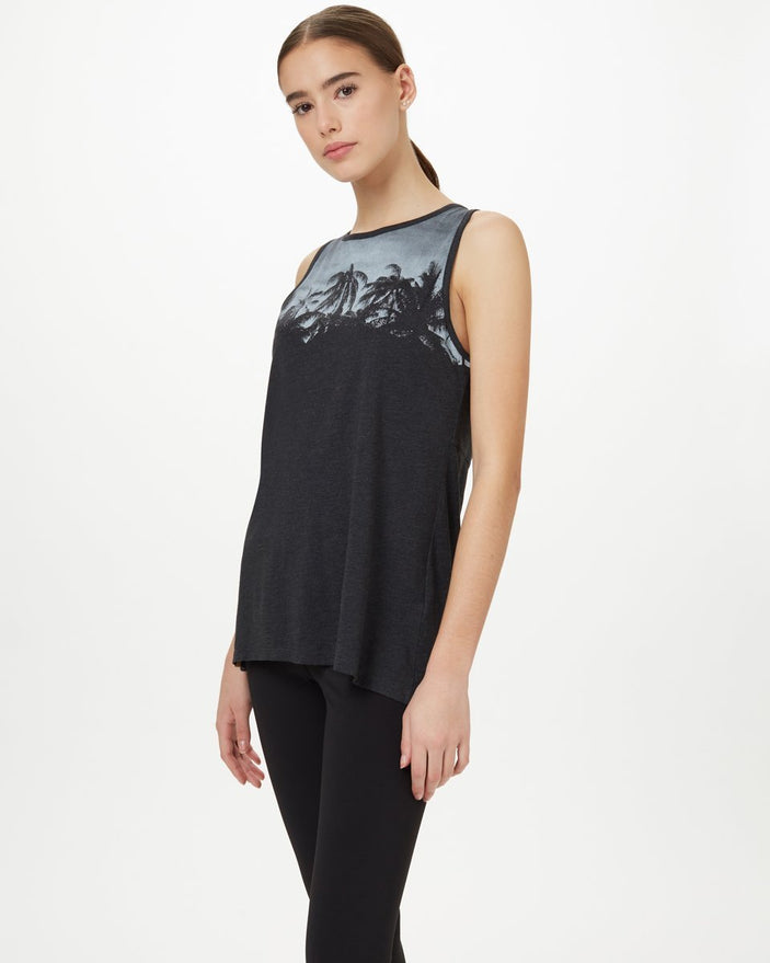 Image of product: Damen Palm Klassisches Tanktop