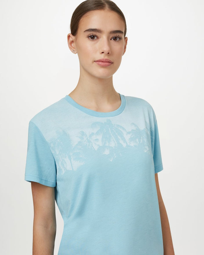 Image of product: Damen Palm Boyfriend-T-Shirt
