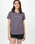 Image of product: Damen Soundwave Boyfriend-T-Shirt