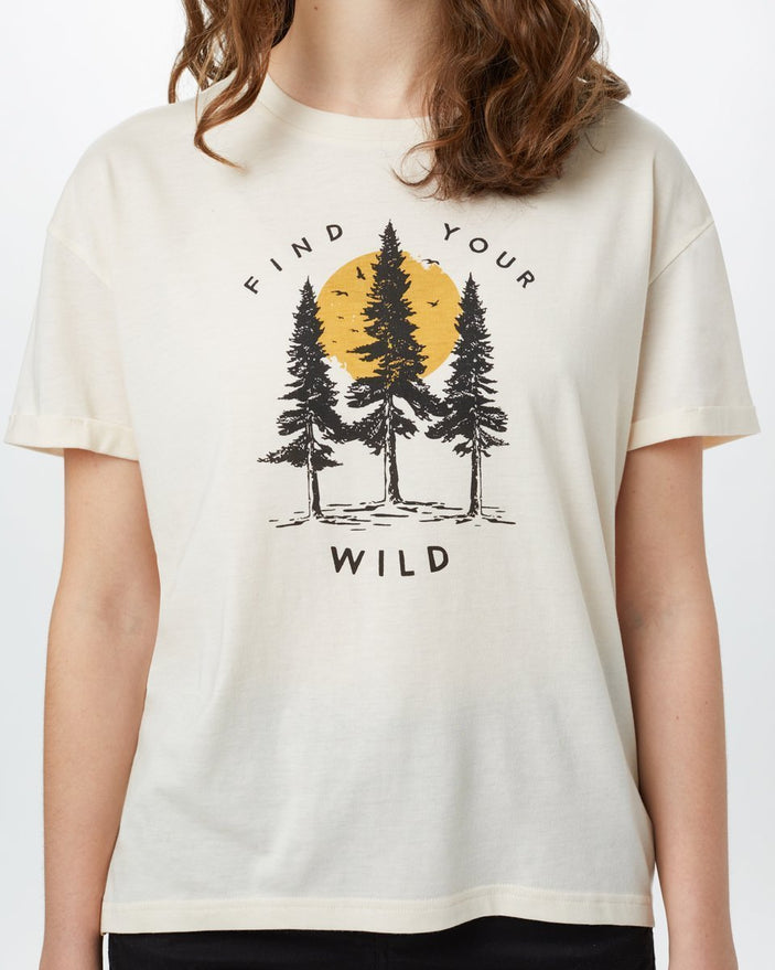 Image of product: Damen Find Your Wild Relaxtes T-Shirt