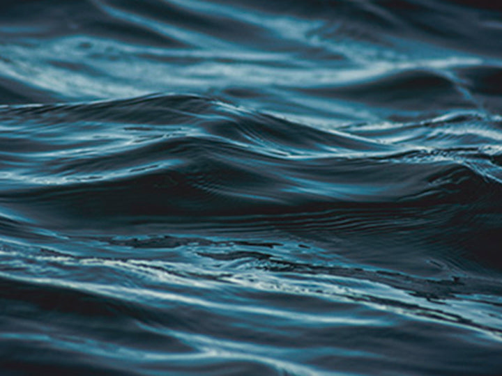 A close up of clean water.