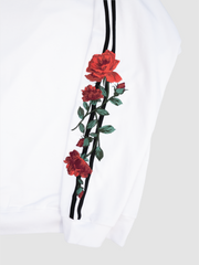 Two Line Embroidery Rose
