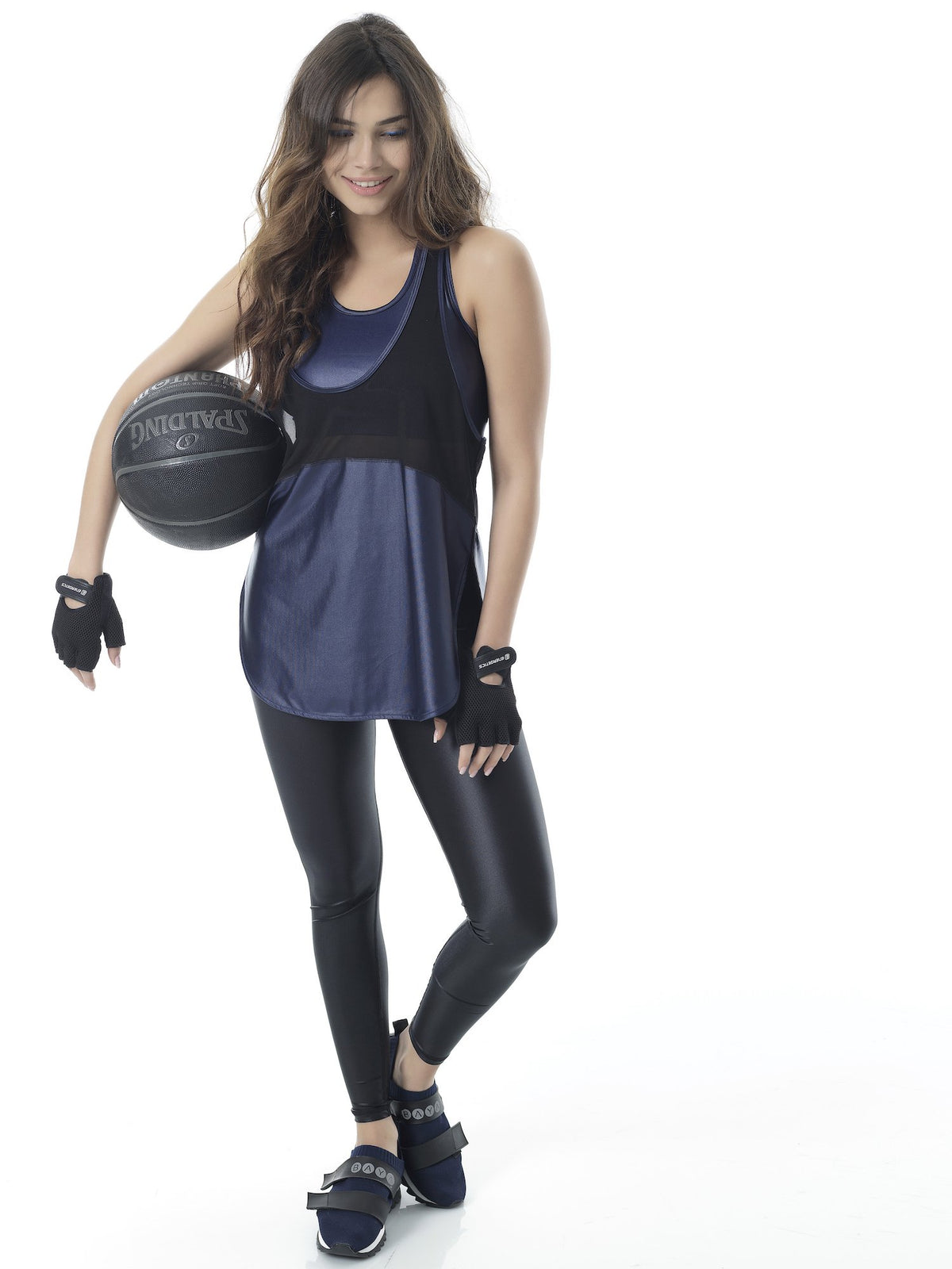 CHALLENGE SPORT TANK - NIGHT BLUE