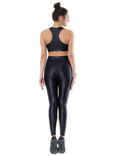 Load image into Gallery viewer, DAZZLE BLACK SET LONG (TOP & LEGGINGS)